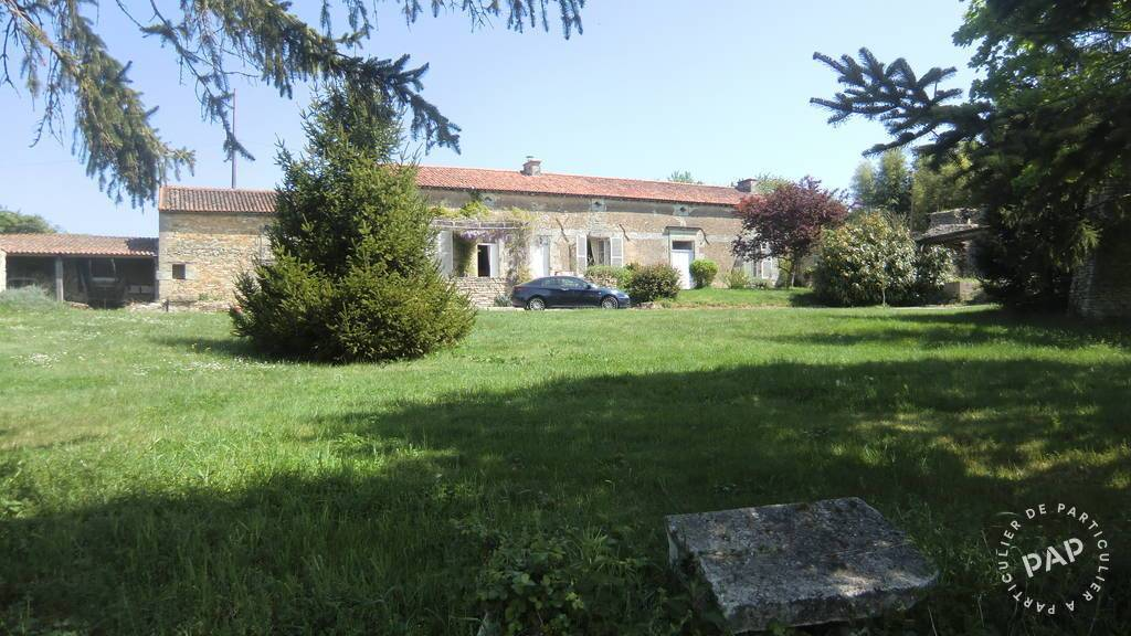 Vente Maison Saint-Jean-De-Sauves (86330) 240m² 220.000€