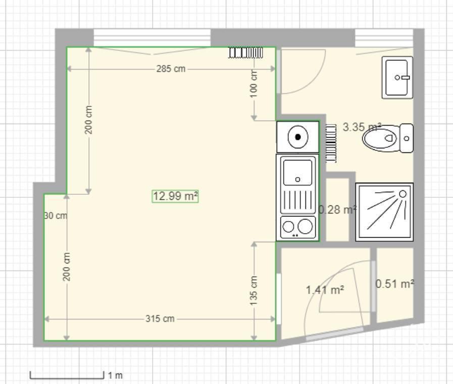 location studio 18 m saint germain en laye 78100 18 m 630 de particulier. Black Bedroom Furniture Sets. Home Design Ideas