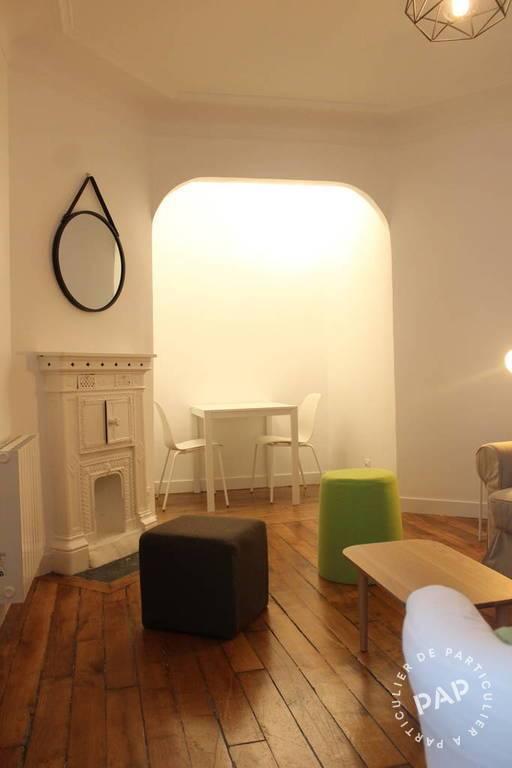 location meubl e appartement 2 pi ces 36 m paris 18e 36 m de particulier. Black Bedroom Furniture Sets. Home Design Ideas