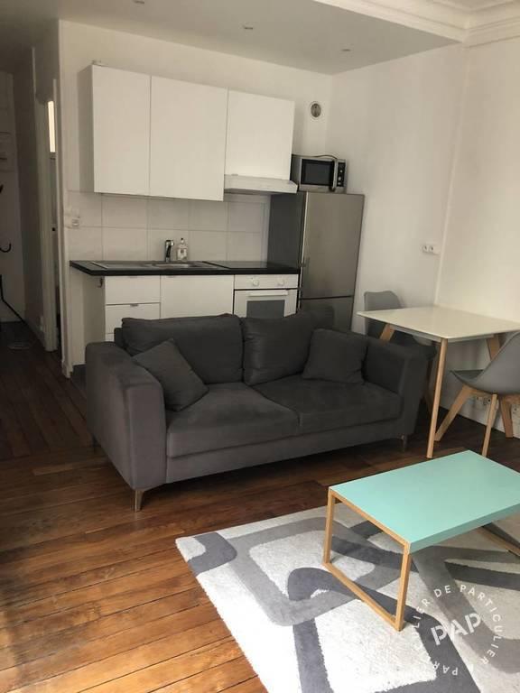 location meubl e appartement 2 pi ces 40 m paris 7e 40 m de particulier. Black Bedroom Furniture Sets. Home Design Ideas