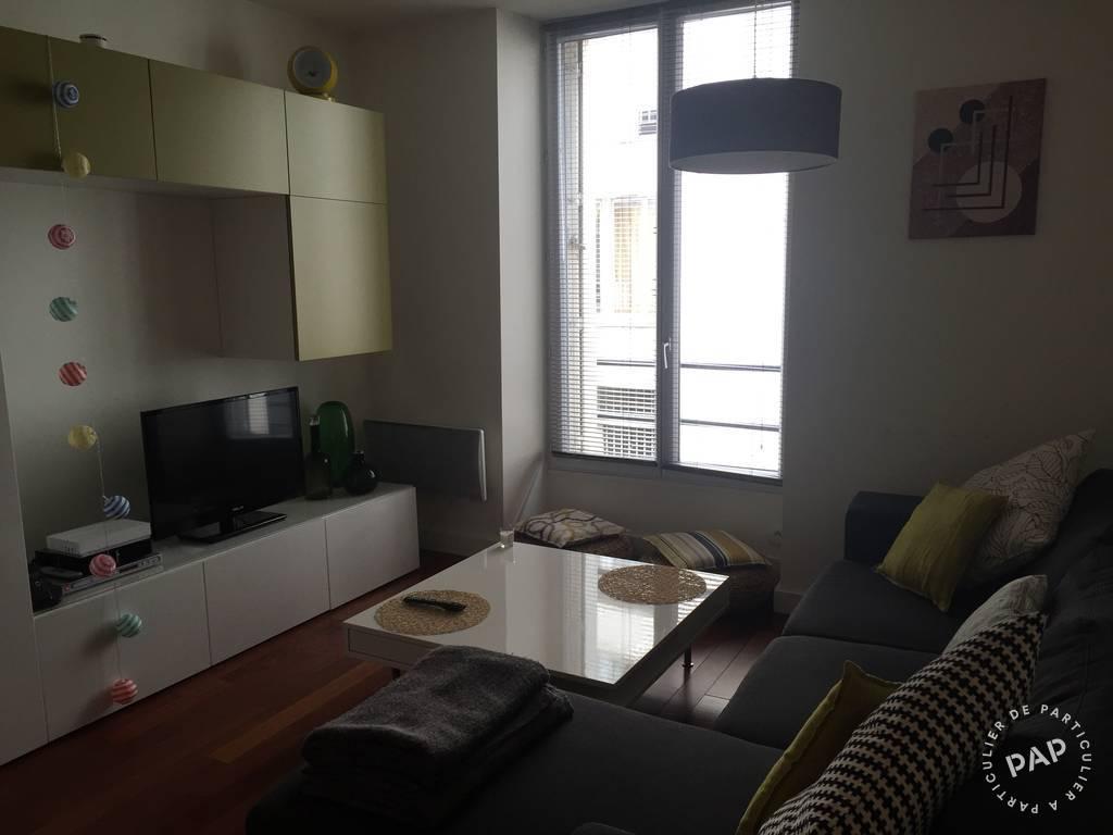 Location meubl e appartement 2 pi ces 28 m paris 18e 28 for Louer appartement meuble paris
