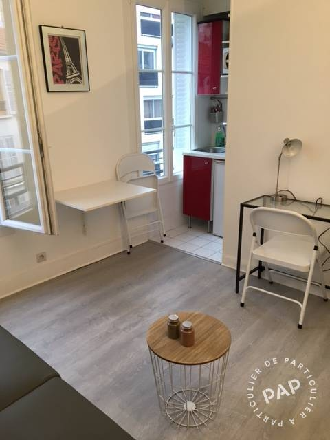Location meubl e studio 14 m paris 15e 14 m 685 for Meuble a louer paris