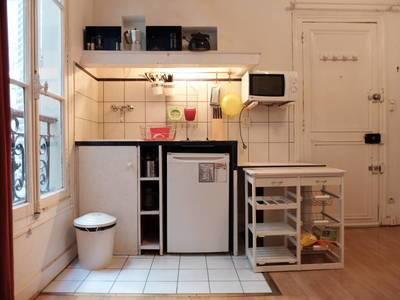Location meublée studio 28m² Paris 10E - 895€