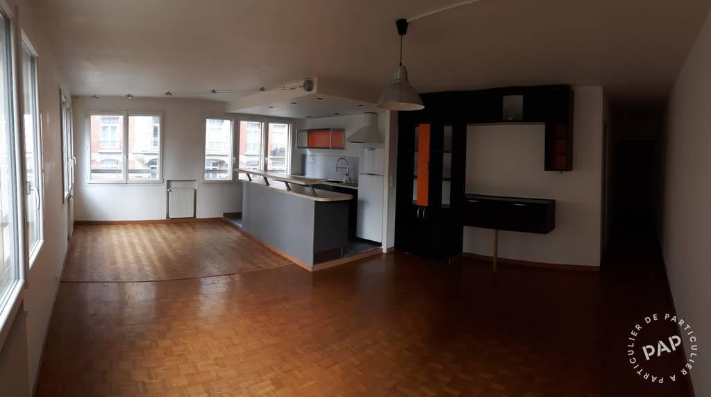Location appartement 3 pi ces 74 m la madeleine 59110 for Appartement meuble lille