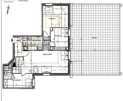 Location appartement 4pièces 79m² Quincy-Sous-Senart (91480) - 1.193€