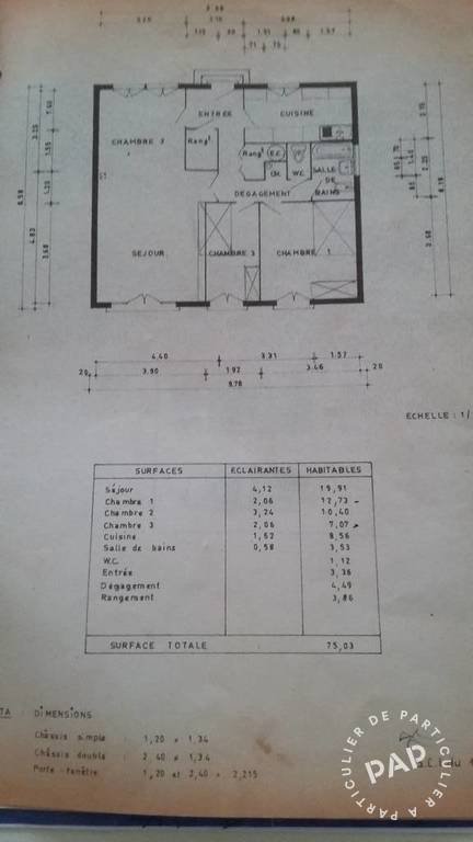 Vente maison 80 m conflans sainte honorine 78700 80 for Conflans sainte honorine piscine