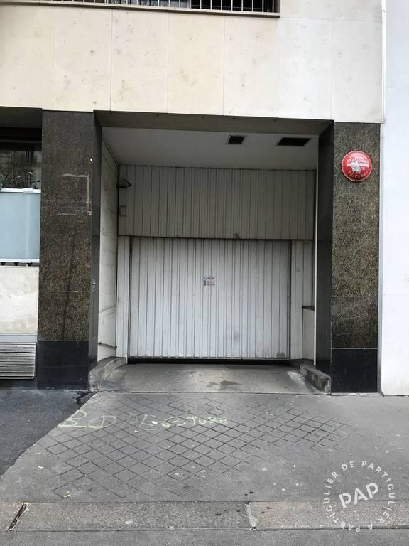 Location garage parking paris 16e 210 de for Garage paris 16