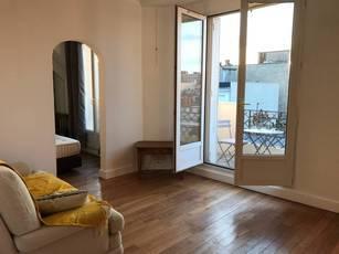 Location meublée appartement 2pièces 37m² Paris 15E - 1.590€