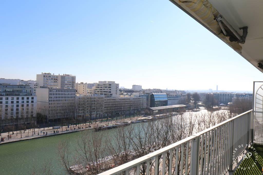 Vente appartement 4 pièces Paris 19e