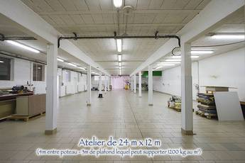 Local d'activité Pinon (02320) - 420m² - 1.680€