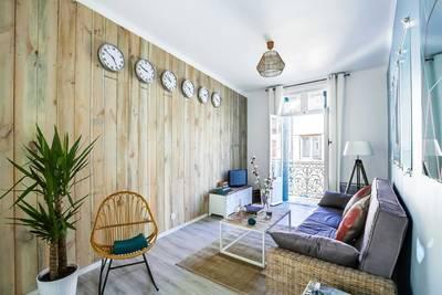Location meublée appartement 2pièces 50m² Montpellier (34) - 1.000€