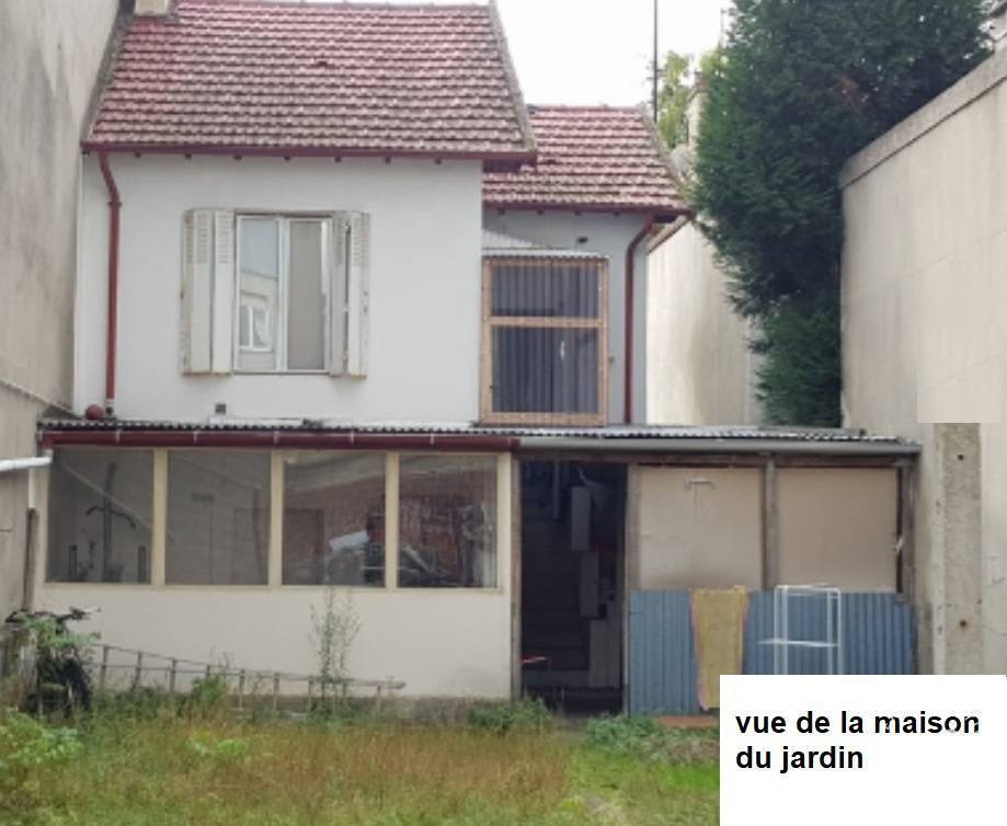 vente maison 45 m aubervilliers 45 m de. Black Bedroom Furniture Sets. Home Design Ideas