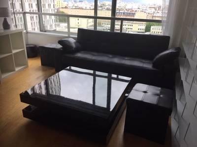 Location meublée appartement 2pièces 62m² Paris 15E - 1.850€