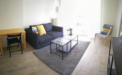 Location meublée appartement 2pièces 34m² Paris 17E - 1.200€