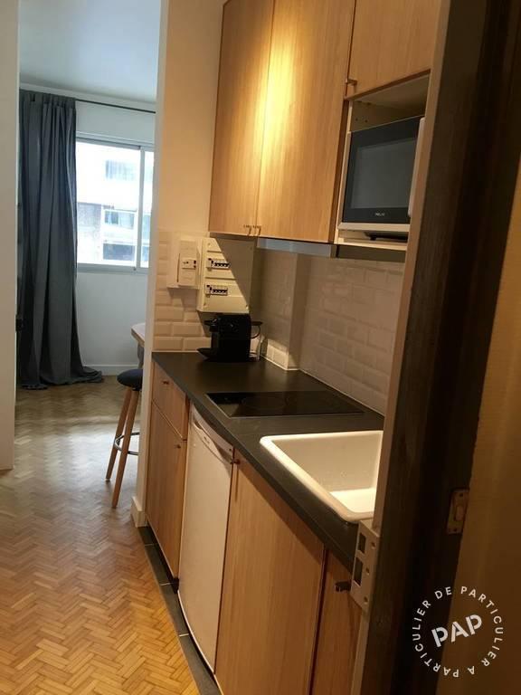 location meubl e studio 19 m paris 16e 19 m de particulier particulier pap. Black Bedroom Furniture Sets. Home Design Ideas