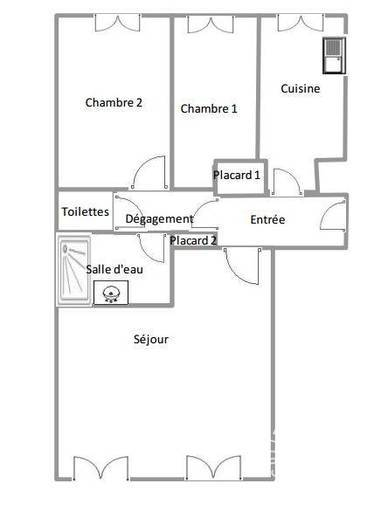 Appartement Melun (77000) 172.000€