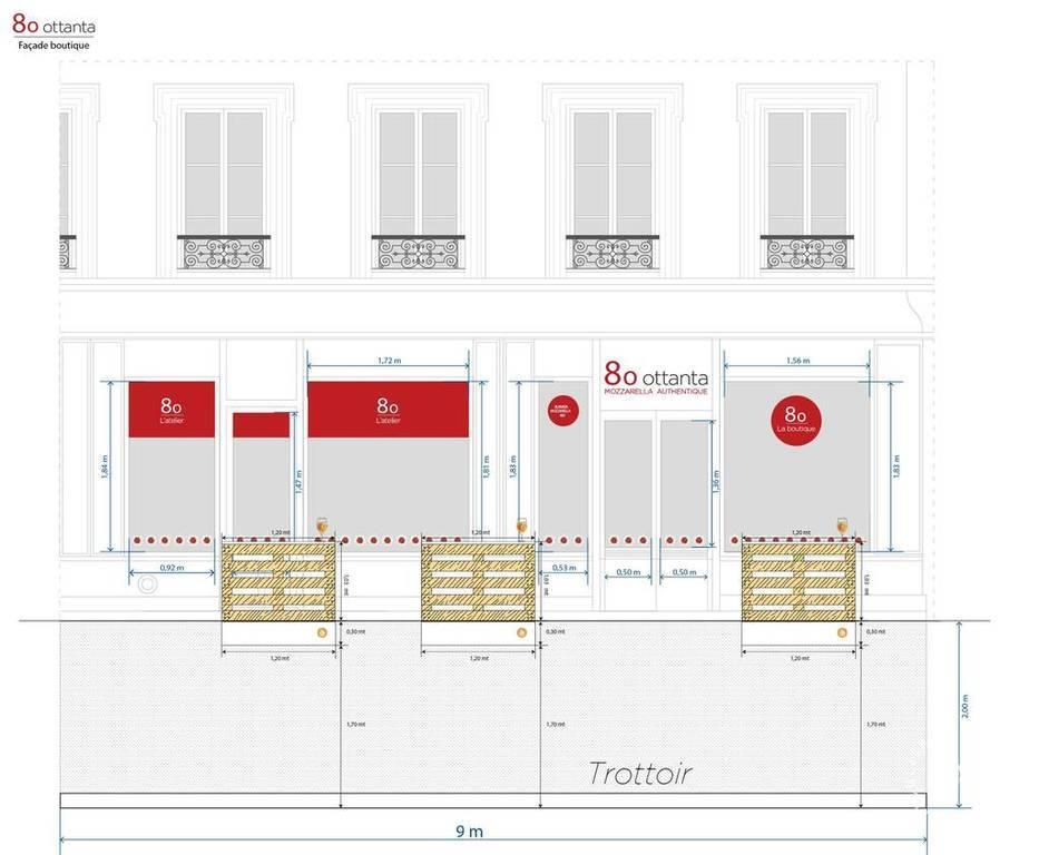 Vente et location Fonds de commerce 50m²