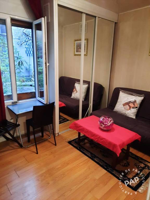 Location Appartement Paris 19E 19m² 680€