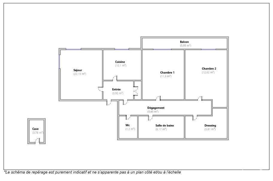 Immobilier Montpellier (34) 170.000€ 79m²