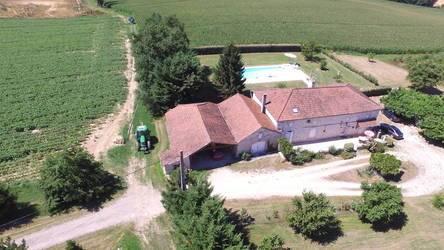 Vente maison 170m² Saint-Sylvestre-Sur-Lot (47140) - 280.000€
