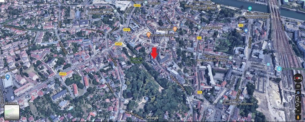 Location immobilier 433€ Pontoise (95)