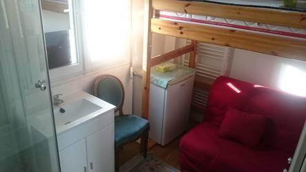 Location meublée studio 11m² Paris 17E - 650€