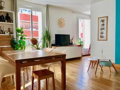 Location meublée appartement 3pièces 58m² Paris 18E - 1.650€