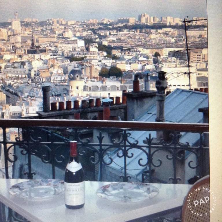 Location Paris 18E 40m²