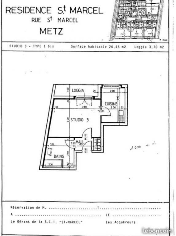 location maison studio maison studio louer journal des particuliers. Black Bedroom Furniture Sets. Home Design Ideas