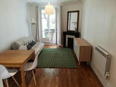 Location meublée appartement 2pièces 50m² Paris 15E - 1.470€