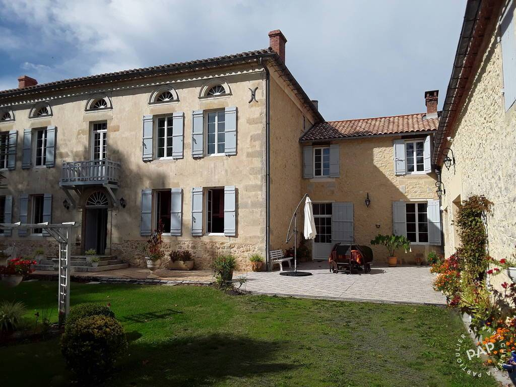 Vente Maison Bernos-Beaulac (33430) 355m² 600.000€