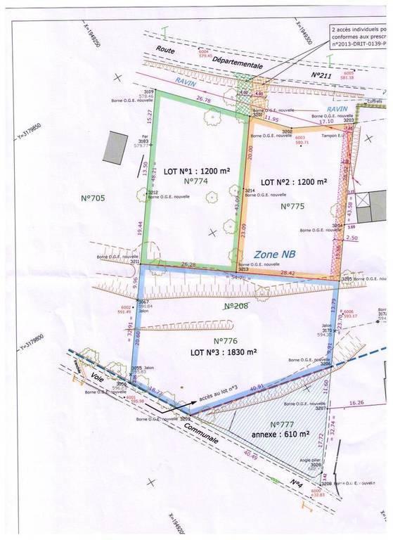 Vente Terrain 16 Km Gréoux-Les-Bains