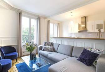 Location meublée appartement 2pièces 40m² Paris 15E - 1.490€