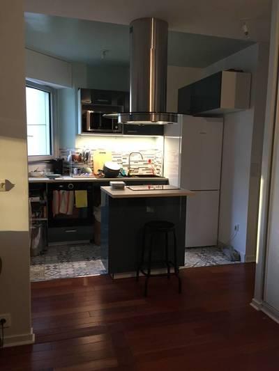 Location meublée appartement 2pièces 42m² Paris 15E - 1.450€