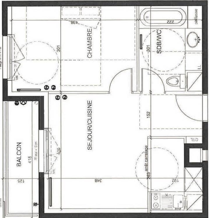 location appartement 2 pi ces 44 m bois colombes 92270 44 m de particulier. Black Bedroom Furniture Sets. Home Design Ideas