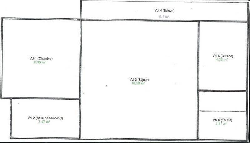 Appartement 198.000€ 35m² Bordeaux (33)