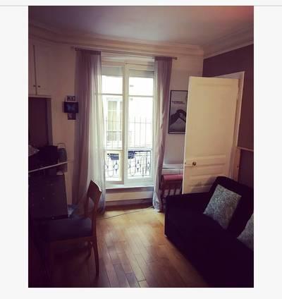 Location meublée appartement 2pièces 30m² Paris 18E - 1.150€