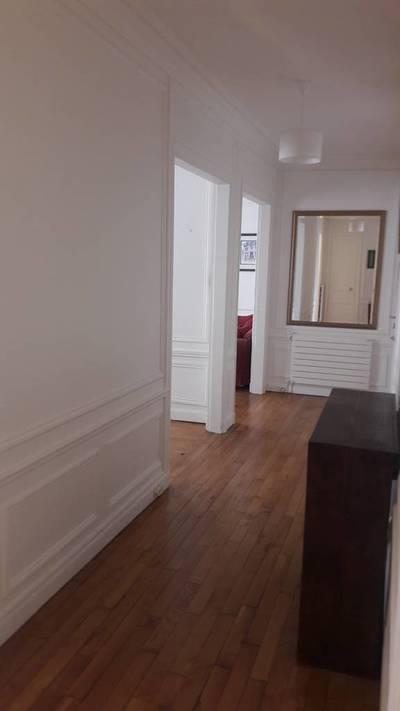Location meublée appartement 3pièces 75m² Paris 16E - 2.390€