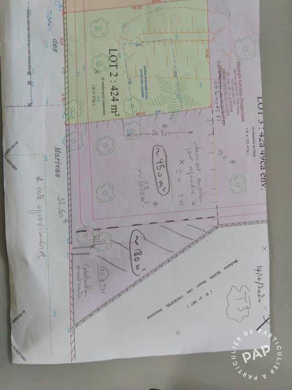 Vente Terrain Guitrancourt (78440)  162.000€