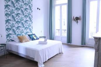 Location meublée chambre 10m² Marseille 1Er - 520€