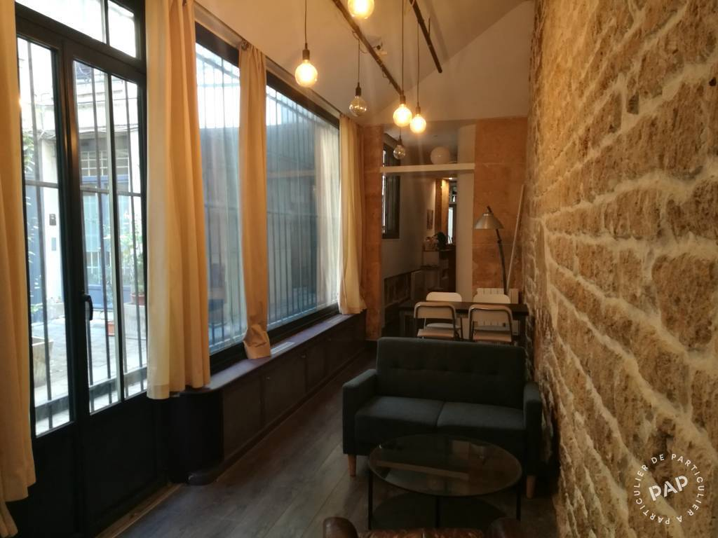 Location meubl e chambre 37 m paris 2e 37 m for Location appartement atypique paris