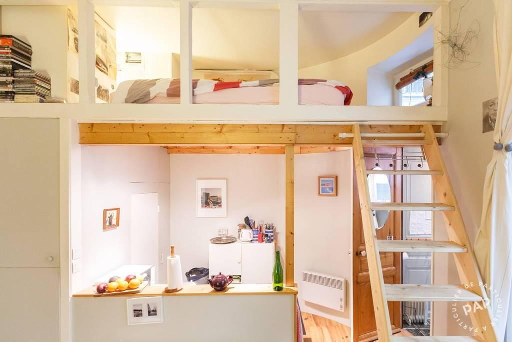 location meubl e studio 16 m paris 18e 16 m 720 de particulier particulier pap. Black Bedroom Furniture Sets. Home Design Ideas