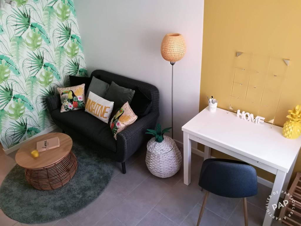 location meubl e chambre 16 m nimes 30 16 m 415. Black Bedroom Furniture Sets. Home Design Ideas