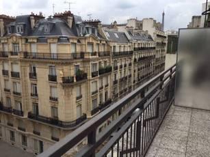 Location meublée studio 25m² Paris 16E - 1.300€