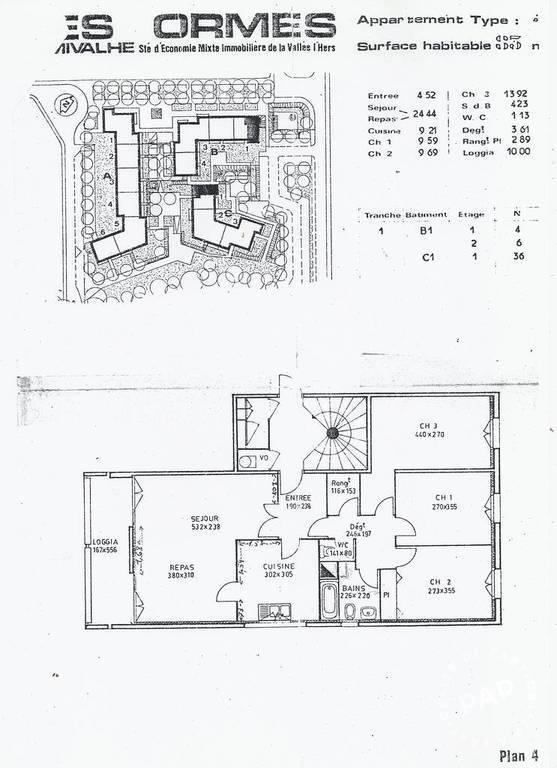 Location appartement 4 pi ces 83 m castanet tolosan for Location garage castanet tolosan