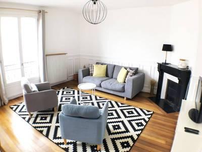Location meublée appartement 3pièces 60m² Levallois-Perret (92300) - 1.950€