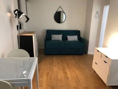 Location meublée studio 20m² Paris 17E - 999€