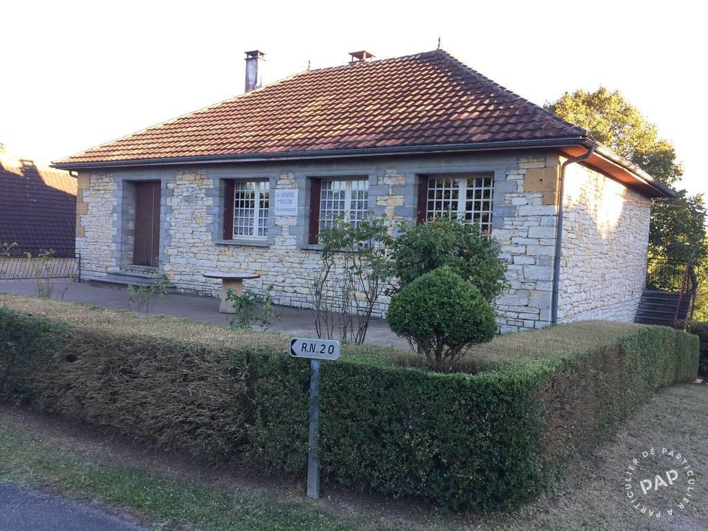 Vente maison 7 pièces Saint-Cirq-Souillaguet (46300)