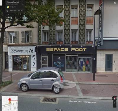 Vente local commercial 180m² Le Havre (76) - 410.000€