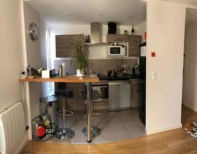 Location meublée appartement 2pièces 40m² Saint-Ouen (93400) - 1.200€